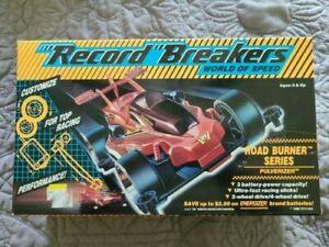 Vintage 1989Hasbro Record Breakers World of Speed Road Burner Series Pulverizer