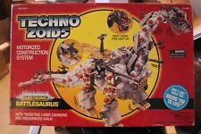 Vintage Technozoids Zoids Battlesaurus Mint in Box