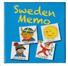 Sweden Memory Boxed Card Game, NEW