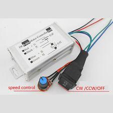DC12V 24V 48V 20A Motor Controller Regler Steuerung Drehzahlregler Speed PWM CCW
