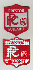 VFA PRESTON / BULLANTS  PATCH/BADGE PLUS STICK ON OF THE SAME SIZE 9mm x 7mm