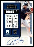 2020 Contenders Rookie Ticket Auto 2 #138 Bobby Bradley - Cleveland Indians