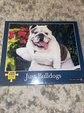 NEW SEALED WILLOW CREEK JUST BULLDOGS 1000 PIECE PUZZLE