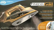 USED PHOENIX GOLD STEAM IRON CERAMIC PLATE CONTINUOUS STEAM GARMENT CLOTHES