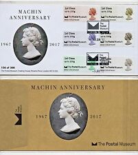 POSTAL MUSEUM MACHIN 50th OFFICIAL FDC  LTD ED 300 - SOLD OUT Post Go JUNE 2017
