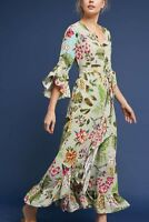 Ruth Floral Maxi Midi Dress Bl-nk London Blank Sz SP PS NWT Favorite Retail $228