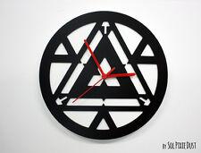 Iron Man Arc Light Minimalist Film Silhouette - Wall Clock