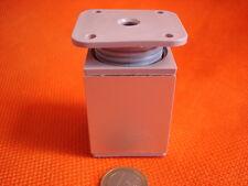 Möbelfuß Sockelfüße Möbelgleiter Kunststoff Aluminium 60x40mm höhenverstellbar !