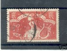 """FRANCE 1935  Y&T 308 """"L'ART ET LE PENSEE"""" OBLITERE TB"""