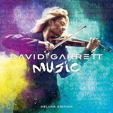 Music Deluxe Edition inkl. 4 Bonus Tracks + DVD von David Garrett Neu