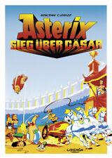 Asterix cartoon poster La surprise de Caesar