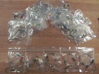 Sea fishing Rigs x 25 Pulleys Pennels - quality big bait winter Shore rigs, Cod