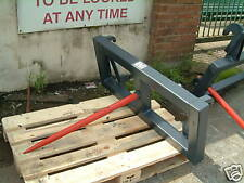 Tractor loader single Bale Spike brand new