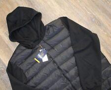 NWT POLO RALPH LAUREN Mens PERFORMANCE Packable Hooded Down Jacket BLACK XXL