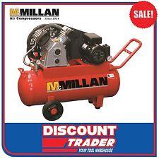 McMillan C-Series Cast Iron Pump Belt Drive 240V/10Amp Air Compressor - C12