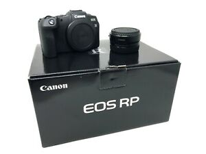 Canon EOS RP Mirrorless Digital Camera + EF- R mount adapter UK NEXT DAY DEL