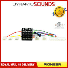 CT21PN01 Replacement Power Lead Car Stereo 12 PIN to ISO for Pioneer Head Unit