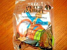 McDonald's Peter Rabbit Movie: Peter Rabbit Hoopla Game Kids Meal Toy NIP #1