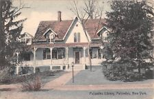 c.1910 Palisades Library Palisades NY post card Rockland county