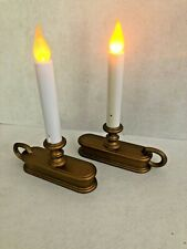 Carlon Single Tier Holiday Window Candle Amber Flame Battery Model FPC1225