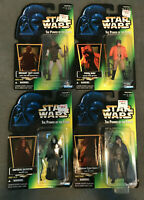 STAR WARS POTF 1996 Collection 3 Figures: Palpatine Ponda Baba Garindan Weequay