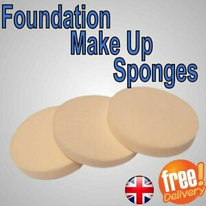 Makeup powder puff Cosmetic Foundation Thick Sponge Tool Round Applicator