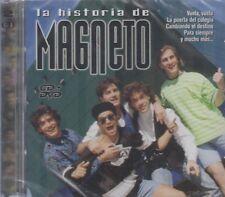 SEALED - La Historia De Magneto NEW Inlcudes 1 CD & 1 DVD NOW SHIPPING !!