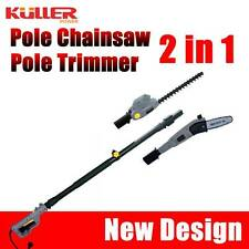 NEW KULLER Electric Pole Chainsaw / Hedge Trimmer OREGON Multi function 2in1