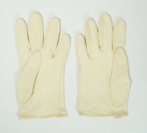 VINTAGE MADE IN ENGLAND FOR BLOOMINGDALES LADIES LEATHER GLOVES SIZE 6 1/2