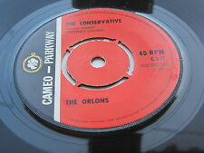 THE ORLONS ORIGINAL 1963 UK 45 THE CONSERVATIVE  /  DONT HANG UP
