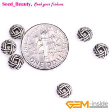50pcs Bali Style Alloy Metal Spacer Beads Finding 3x6mm