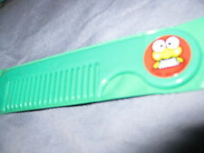 VINTAGE SANRIO HELLO KITTY KEROKEROKEROPPI COMB WITH CASE 1988 NEW LOOK!
