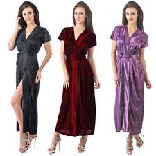 Full Length Satin Everyday Nightwear Robes for Women