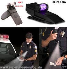 COP UV Lampe police lampe de poche QUIQLITE Q-prouw Ultraviolet/Blanc Jur-PRO-UW