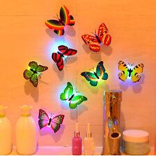New Magic Romantic LED Butterfly Night LED Light Home/Room Decor Lamp 1 pc