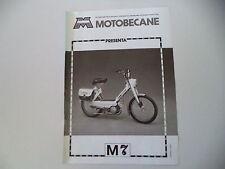 advertising Pubblicità 1978 MOTOBECANE M7 50