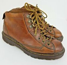 Dr. Martens Brown Leather Ankle Boots US Women's 6 Men's 5 UK 4 8088