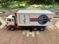 Vintage Siku Volvo F12 Turbo 6 Die Cast Box Truck Toy 1982