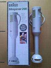 BRAUN Design Stabmixer Mixer Hand Blender 70er 80er 70ies 80ies WEISS HfG Ulm