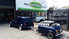 PANELVAN MINI Good for the preppers..Self sufficient with Beer keg & BBQ trailer