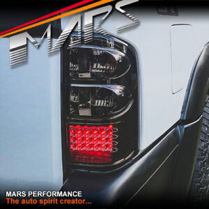 Smoked LED Tail lights for Nissan Patrol GU 1997-2004 4WD 4x4 Series 1 2 3