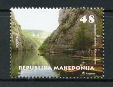 Macedonia 2017 MNH Matka Canyon 1v Set Mountains Tourism & Landscapes Stamps