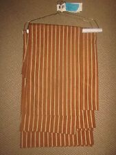 CUSTOM 6 Striped Curtain Panels Drapes Copper & Gold FROM BOARDWALK EMPIRE SET