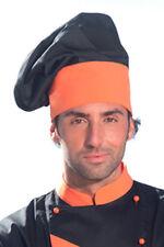 Cappello Berretto Cuoco Uomo Donna Cucina Chef Ristorante Divisa da Lavoro Abiti