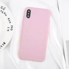 Case For iPhone XS MAX XR XS X Genuine Silicone Soft Liquid Luxury Cover Pure