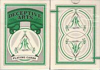 Deceptive Arts Playing Cards Deck Cartamundi Limited Edition Poker Size