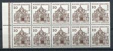 Berlin Mi-Nr H-Blatt 4 10x242 -Deutsche Bauwerke 12. Jahrh.- ** Postfrisch 1965