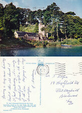 1971 St JUST IN ROSELAND CHURCH FROM THE CREEK CORNWALL COLOUR POSTCARD