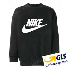 Felpa Logo Nike 100% cotone maglia a maniche lunghe