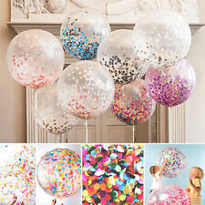 5pcs 12'' Confetti Latex Balloons Wedding Birthday Party Baby Shower Decoration